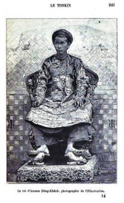 Trương Vĩnh Ký tâu với thực dân Pháp  về vua Đồng Khánh như thế nào?